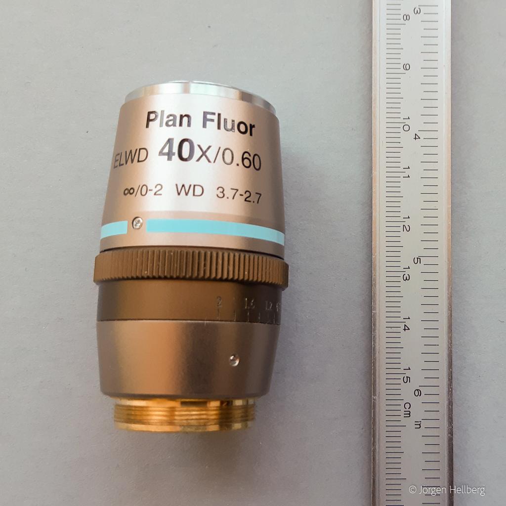 Nikon Plan Fluor ELWD 40x/0.60