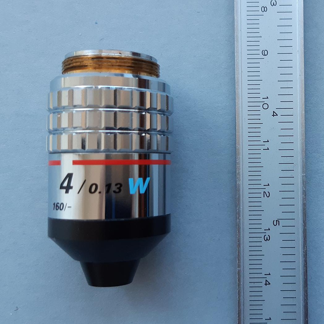 Nikon 4x NA 0.13 W